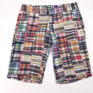 J.Crew Shorts Size 8 City Fit Chino Patchwork